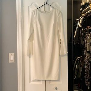 Calvin Klein petite winter white dress CT8C14DY